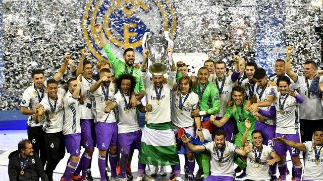 Real Madrid campeão da Liga dos Campeões (créditos: Reuters)
