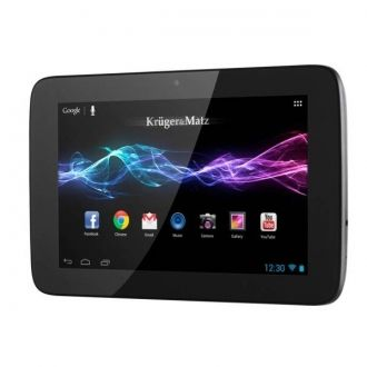 """Kruger&Matz KM0794 Tablet 7 Wbudowany odbiornik GPS Świetnie sprawdzi sie w roli nawigacji.  Panoramiczny 7"""" ekran IPS To doskonała widoczność i jakośc obrazu w każdych warunkach.  Design Lekki i wygodny dzięki kompaktowej obudowie."""