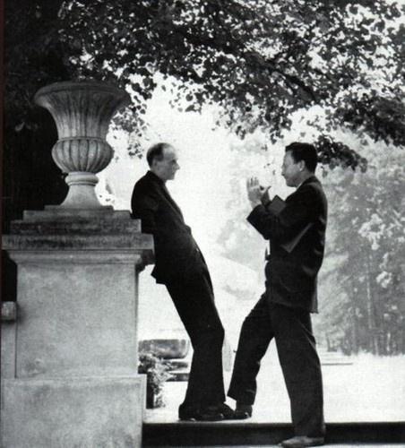 Paul Dirac et Richard Feynman