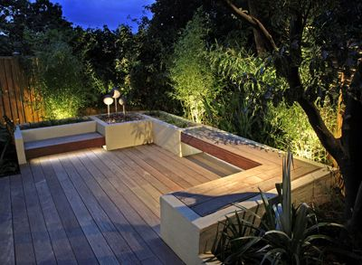 Moonlight design garden lighting