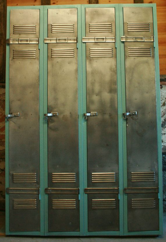 French Vintage Industrial Armoire/Locker