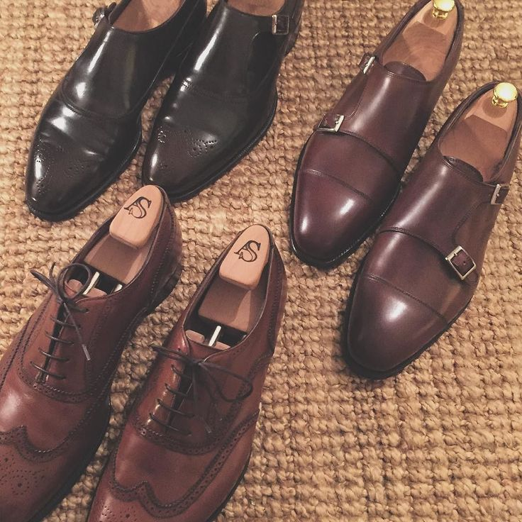 Three pairs of Alfred Sargent shoes polished and ready to go... #welldressed #picoftheday #instafashion #instashoes #instagood #shoes #shoeporn #shoemaking #alfredsargent #alfredsargentexclusive #alfredsargentshoes #tradition #madeinbritain #MadeInEngland #madetoorder #arndtsusmann #menswear #craftimage #likeforlike