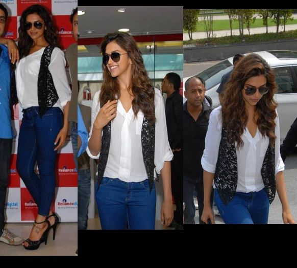 deepika-padukone-sequin-vest-cocktail-delhi