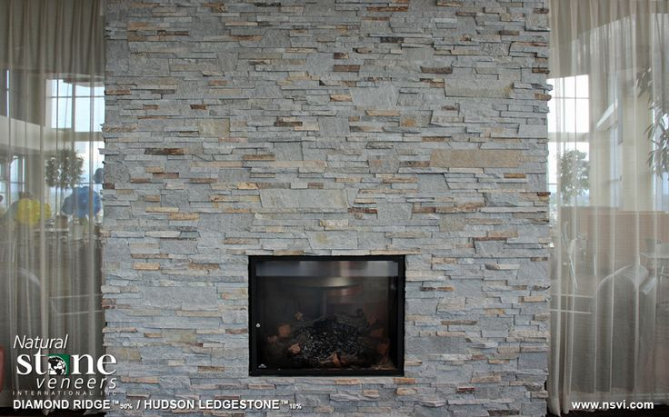 Ledgestone Fireplace Are Fascinating Option : 1000+ images about Fireplace walls options on Pinterest  Natural ...