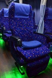千葉中央バス 夜行バスのシート 日本中の中央バスのまとめ