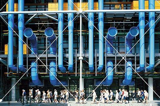 Centre Pompidou · Projects · Rogers Stirk Harbour + Partners
