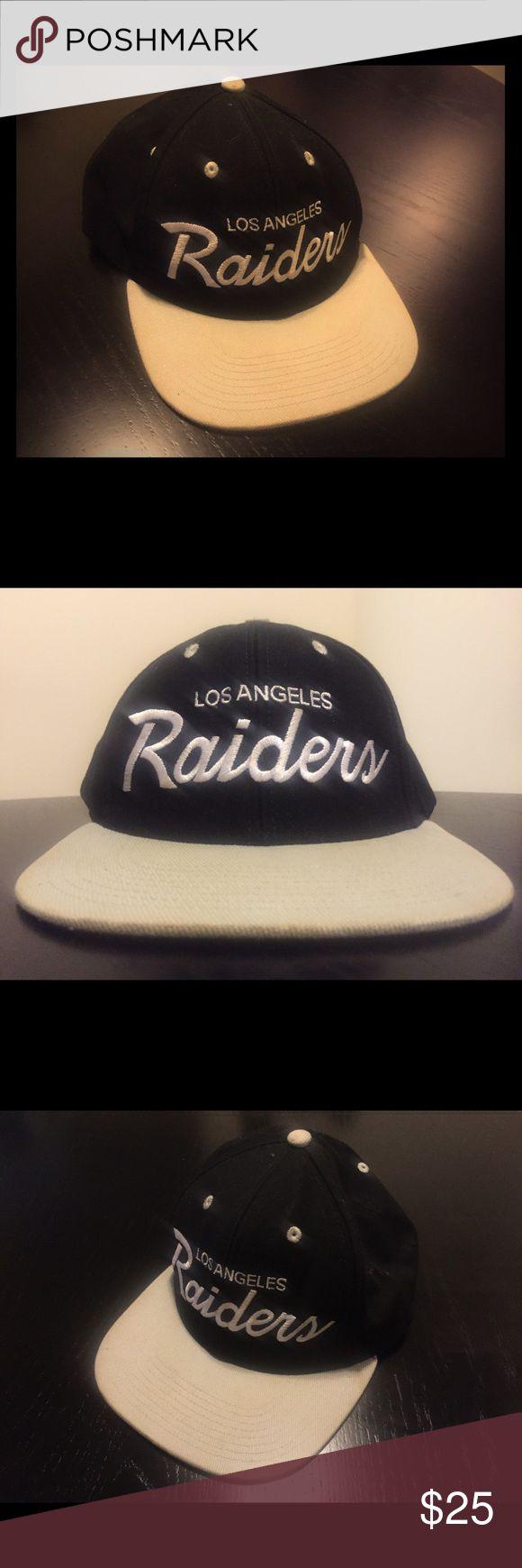 Los Angeles Raiders SnapBack Hat Los Angeles Raiders SnapBack Hat one size fits all Accessories Hats