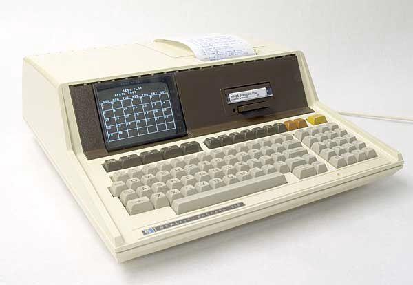 Hewlett Packard HP85s Computer system.