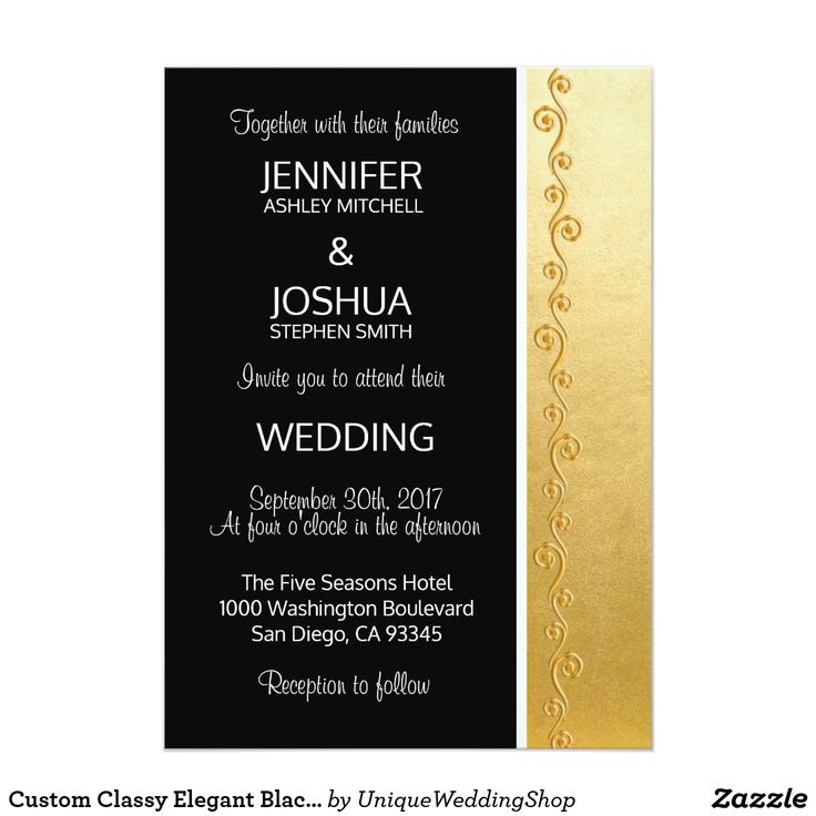 Best 25 Black and gold invitations ideas on Pinterest