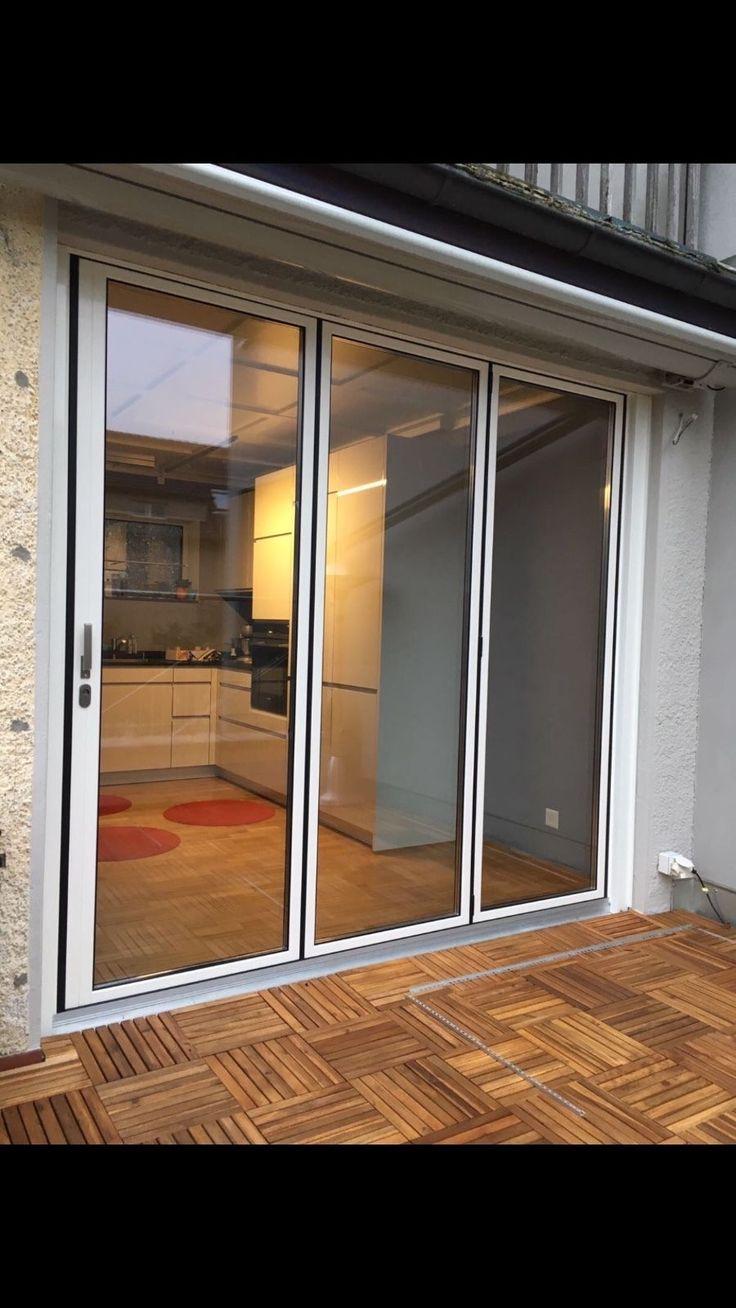 NEW Slim Profile Quality Aluminuim Bi Fold Patio Doors Inc Glass 3  Panels.see FB