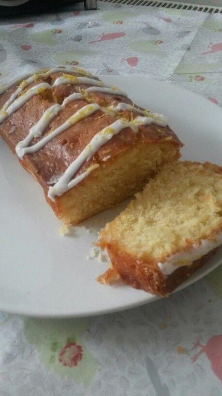 Lemon drizzle cake nigella lawson recipe followed exactly. Delicious