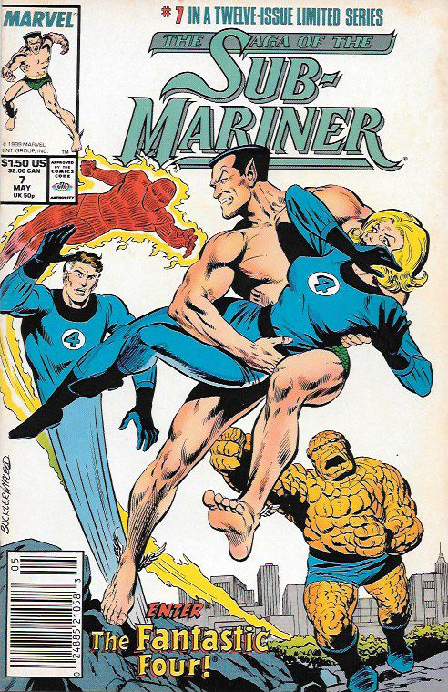 Rage and Remembrance__script by Roy Thomas and Dann Thomas, pencils by Rich Buckler , Cover art by Rich Buckler , The Story .. recaps Namor's return in Fantastic Four #4, 6. Subby, Bill, and Me: Part