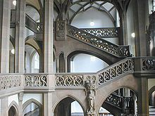 Amtsgericht Wedding - District Court House in the Wedding section of Berlin....The staircase is amazing.