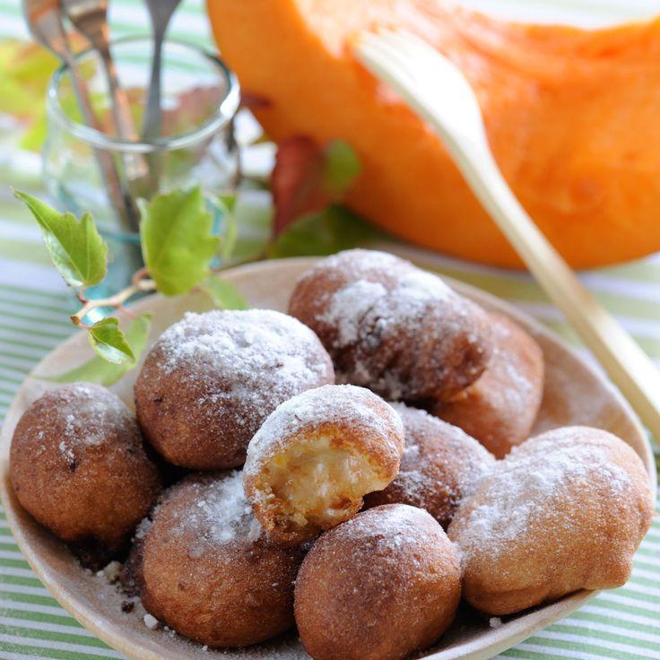 Découvrez la recette des beignets de potiron