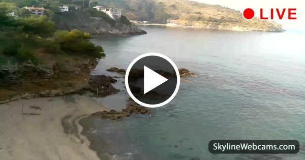 Live Webcam from Palinuro Beach! Enjoy it now!