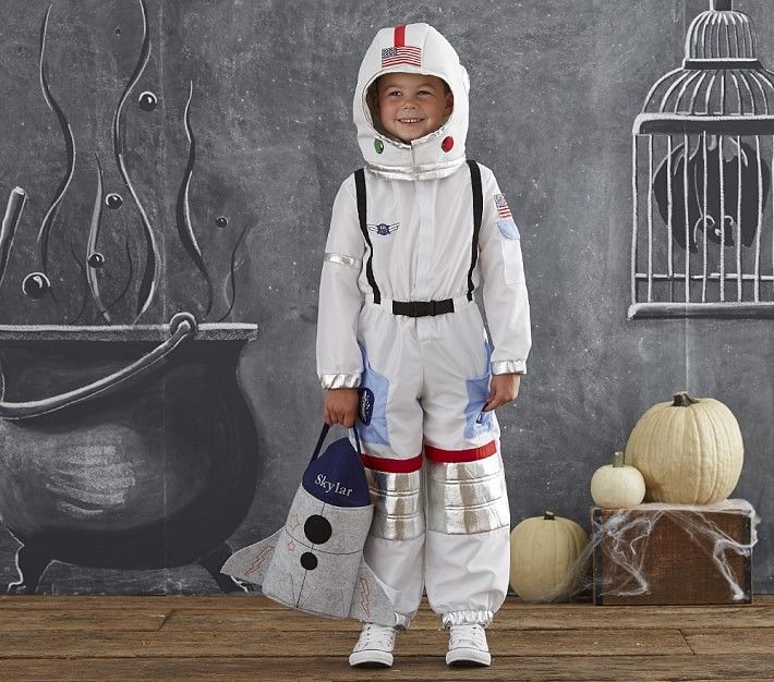 Pottery Barn Kids Astronaut Costume and Helmet 3T