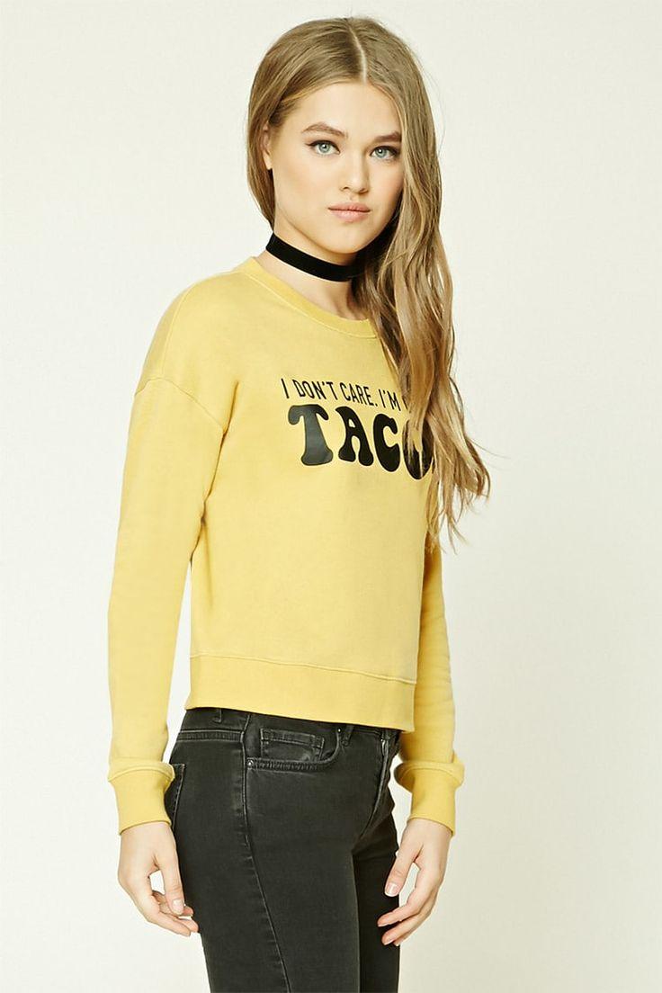Tacos Graphic Sweatshirt