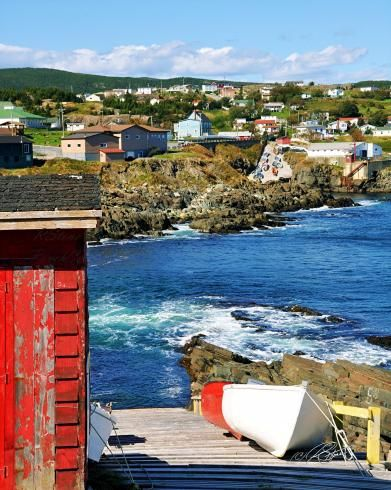Little Red Shed - Pouch Cove, Newfoundland Photography by Stone Island Photography