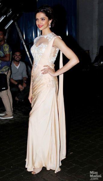 Deepika Padukone during Chennai Express promotions 2013