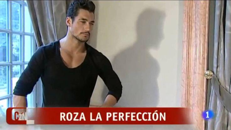 David Gandy - 'Corazón, corazón' TV Report ~ WISH I KNEW WHAT HE WAS SAYING ~