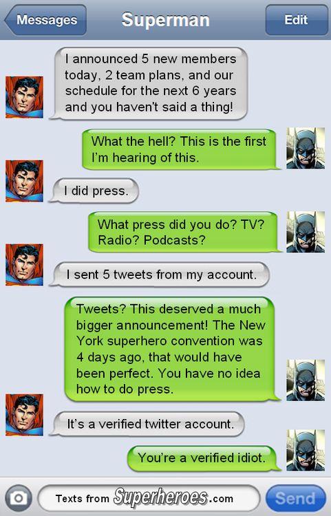 Batman and Superman discuss WB/DC announcements
