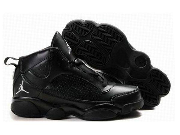 Quality Sports Shoes Mens Air Jordan 13 New Combination Black Grey shoes -