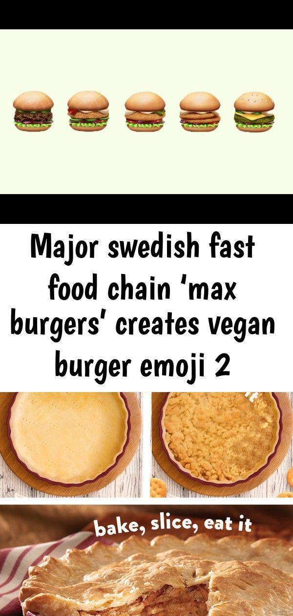 Burger Burgers Chain Creates Emoji Fast Food Major Max Swedish Vegan Major Swedish Fast Food Chain Max Burgers Vegan Burgers Food Fast Food Chains
