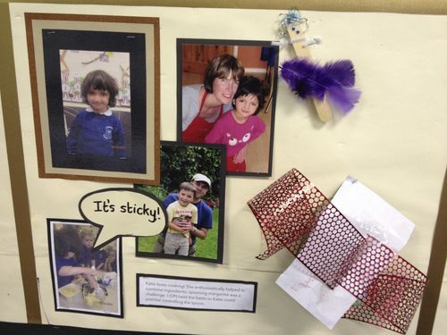Here each child gets their own display square #eyfs #displayinearlyyears #displayideas #abcdoes