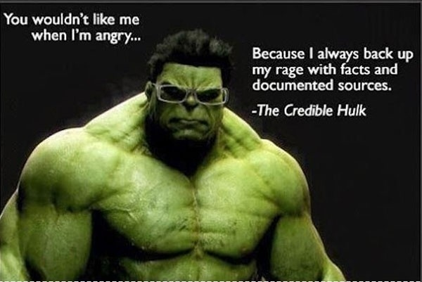 The Credible Hulk ahah took me a little while but then i got it