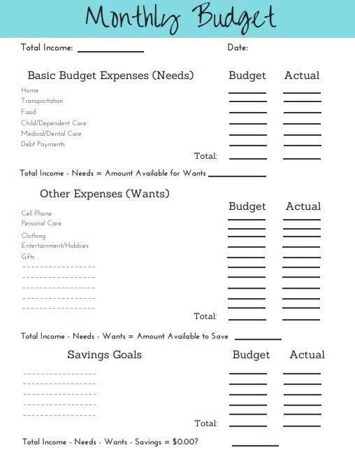 Simple steps to budgeting; simple tool to succeed Budgeting