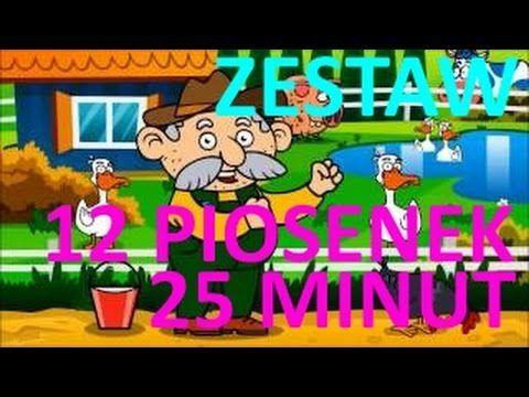 Piosenki dla dzieci ZESTAW 25 minut na kawę dla rodziców 12 piosenek BZY...