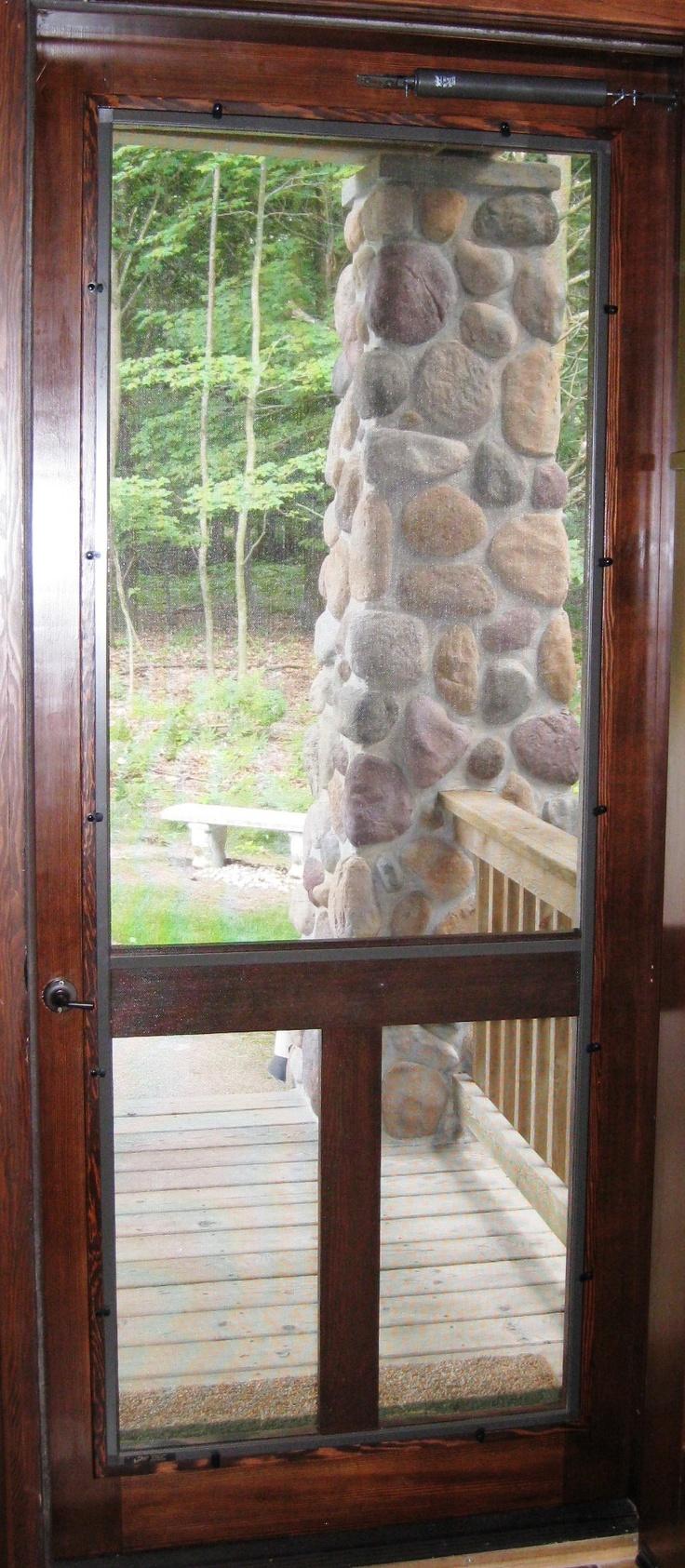 221 Best Screen Storm Doors Images On Pinterest Storm Doors