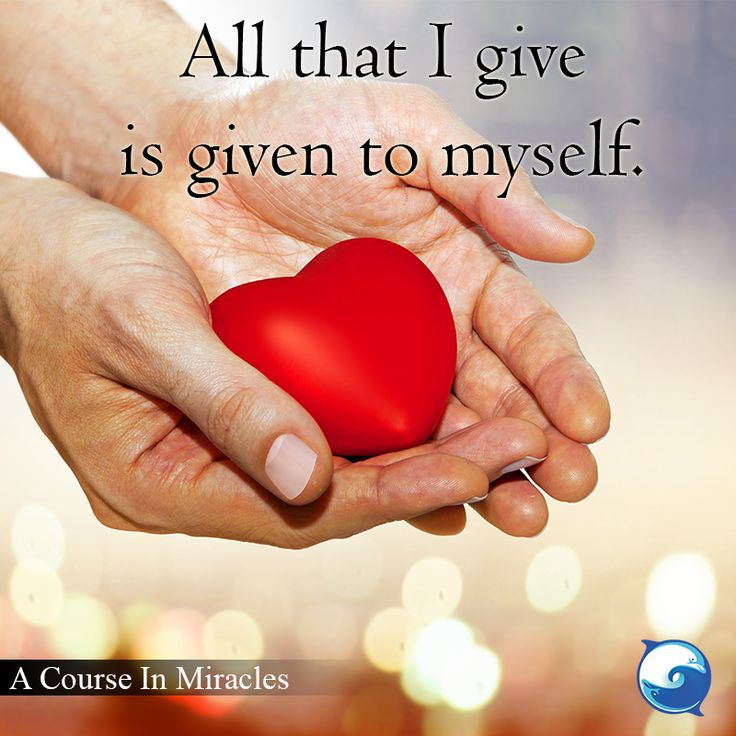 Amen.  - A Course In Miracles quotation http://www.the-course-in-miracles.com/freecourse