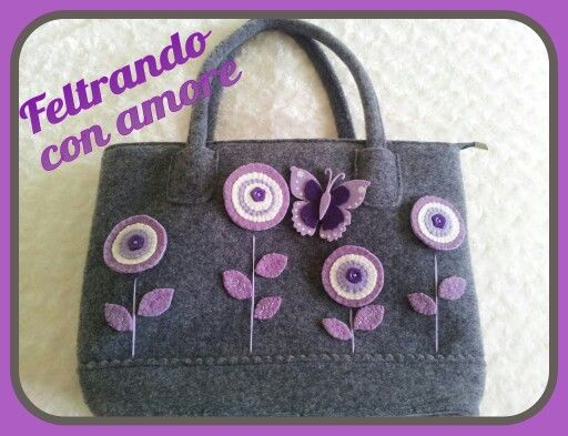 Borsa in feltro - felt bag