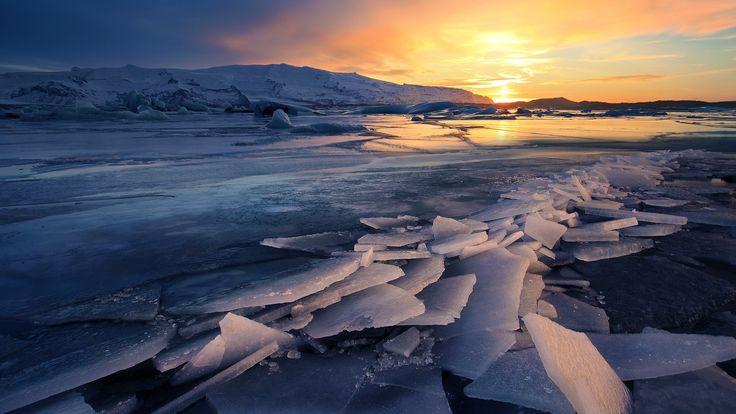 Frozen Lake Winter HD desktop wallpaper High Definition Dual