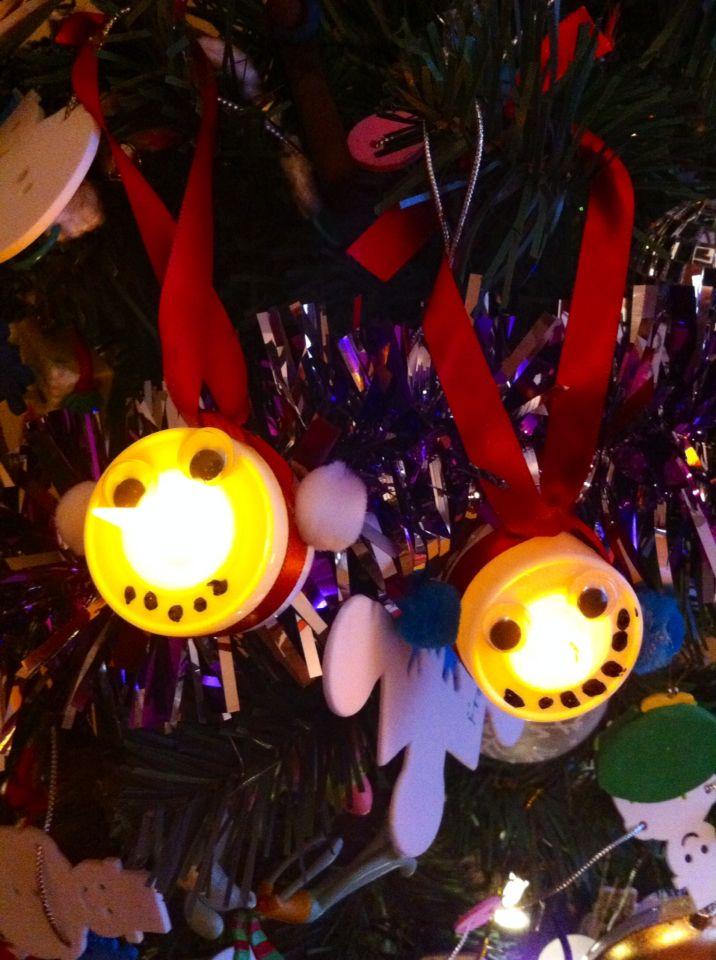 Christmas craft with kids.
