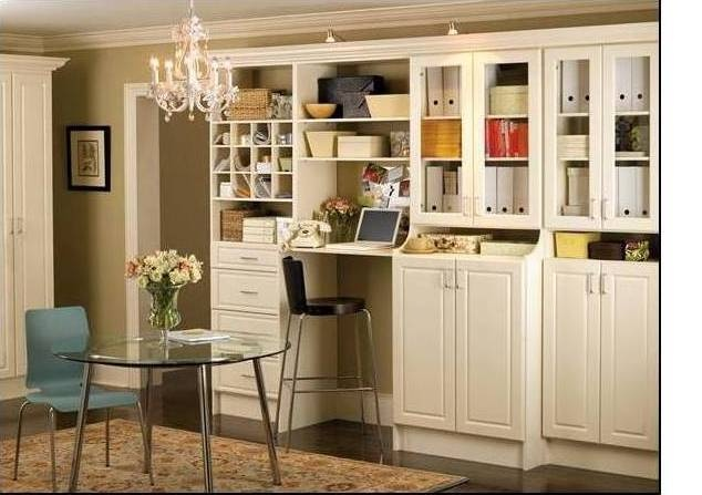 For the uber pantry - love the built in computer nook