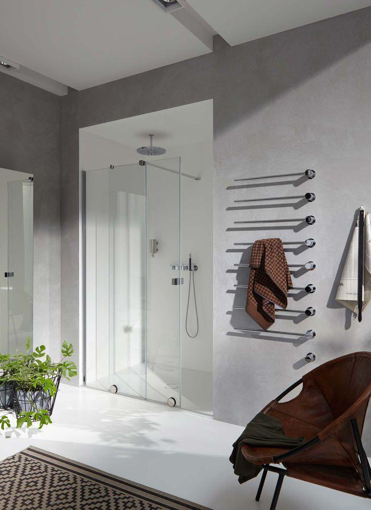 Ebenerdige Duschen liegen im Trend. Was hälst du von Walk-in-Duschen?  Ideen, Tipps und Inspiration zum Bad findest du auf wohn-dir-was.de  Bildmaterial (c) HÜPPE
