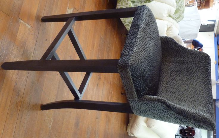 Coco barstool  (not in the fabric or timber stain shown)