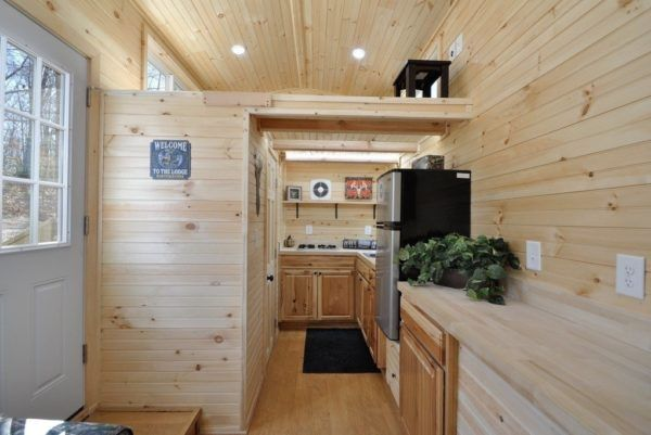 The 20ft Timberland Hunting Tiny House w/ Toy Hauler! (For Sale)