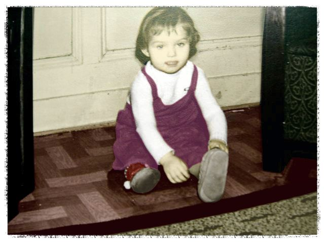 My youngest sister in the late fifties