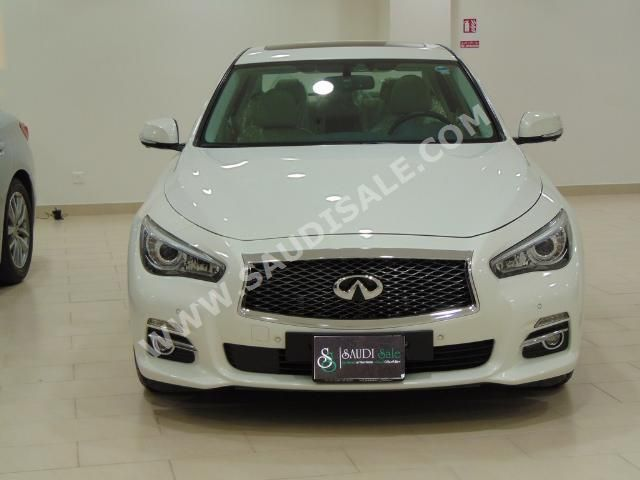 Infiniti Q 50 ( White / 2014 ) For Sale @ www.SaudiSale.com