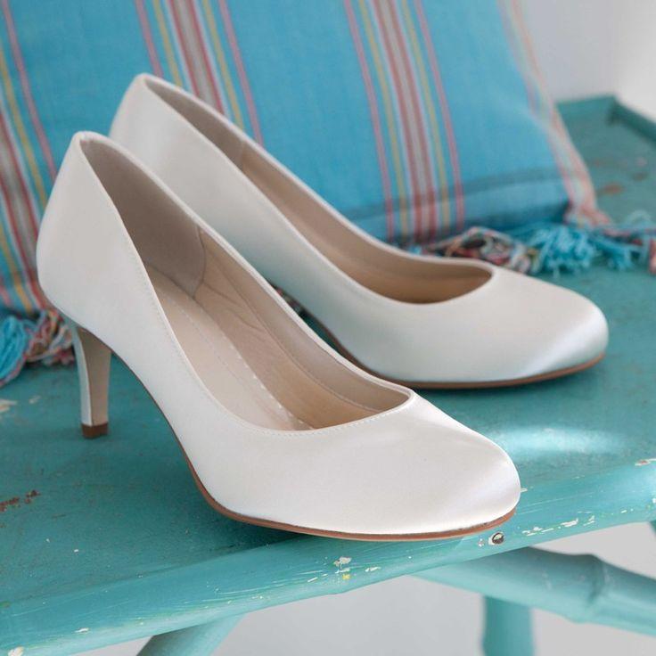 The 25 Best Kitten Heel Wedding Shoes Ideas On Pinterest