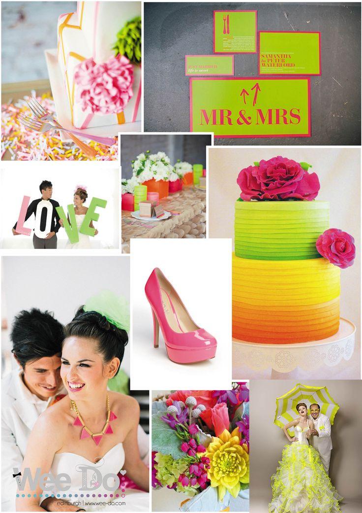 Neon Wedding Theme - www.wee-do.com