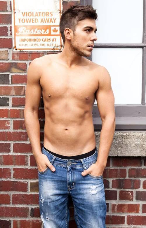 No shirt, no problem!  #Vancouver #Modeling #YVR