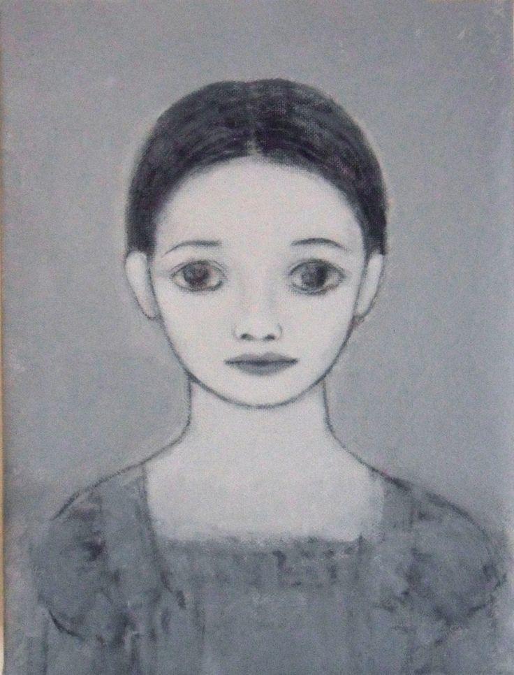 Marco Demis, 2011, Senza Titolo, Olio su tela, Cm 20,5 x 15, 5.