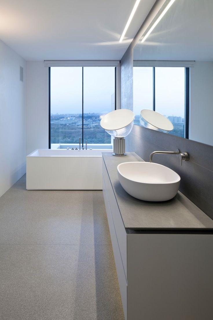 Y Duplex Penthouse by Pitsou Kedem Architects