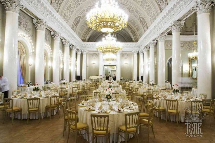 Gala Dinner At White Column Hall Yusupoff Palace St