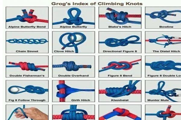 l'Importanza dei Nodi in Montagna - Saper usare la corda in alpinismo e/o durante le escursioni penso sia fondamentale per tutti, purché si conoscano i nodi