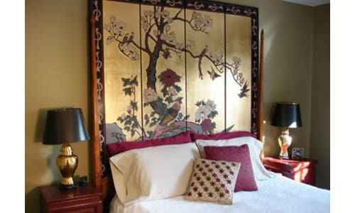 Bedroom headboard ideas Oriental bedroom, Asian bedroom